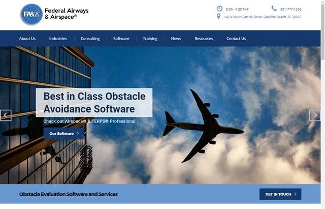 Federal Airways and Airspace website